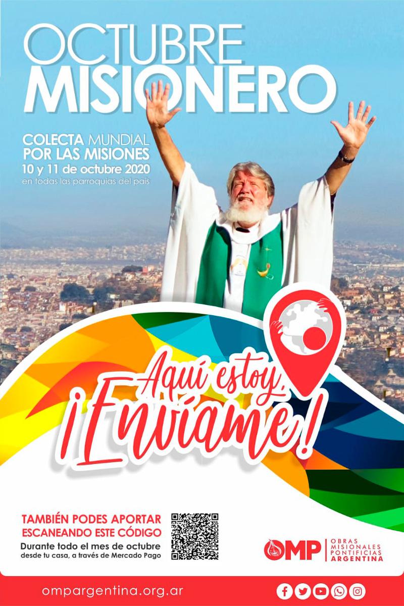 Lee más sobre el artículo Colecta por la jornada mundial de Las Misiones