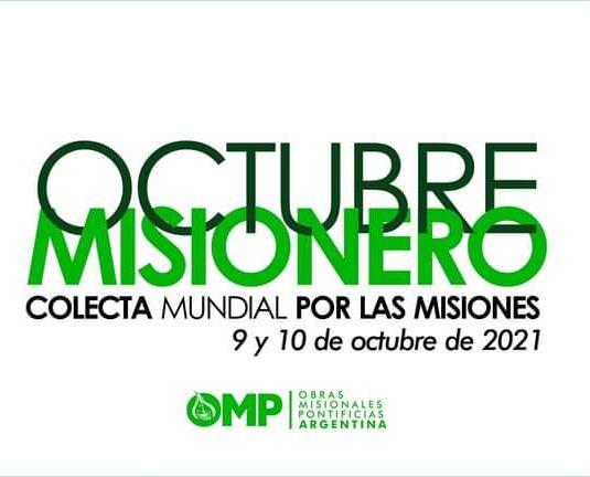 Lee más sobre el artículo Octubre Mes de las Misiones DOMUND 2021