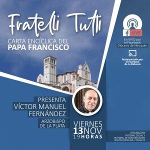 Lee más sobre el artículo Presentación Fratelli Tutti