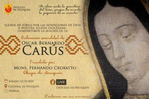 Ordenación presbiteral de Oscar Bernardo Carús