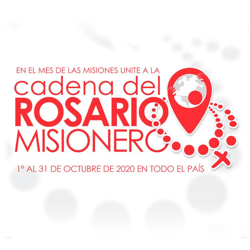 Lee más sobre el artículo Cadena del rosario misionero