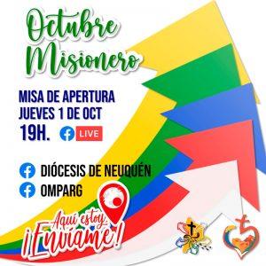 Misa de inicio del Octubre Misionero 2020